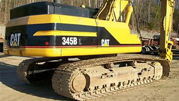 345B Excavator