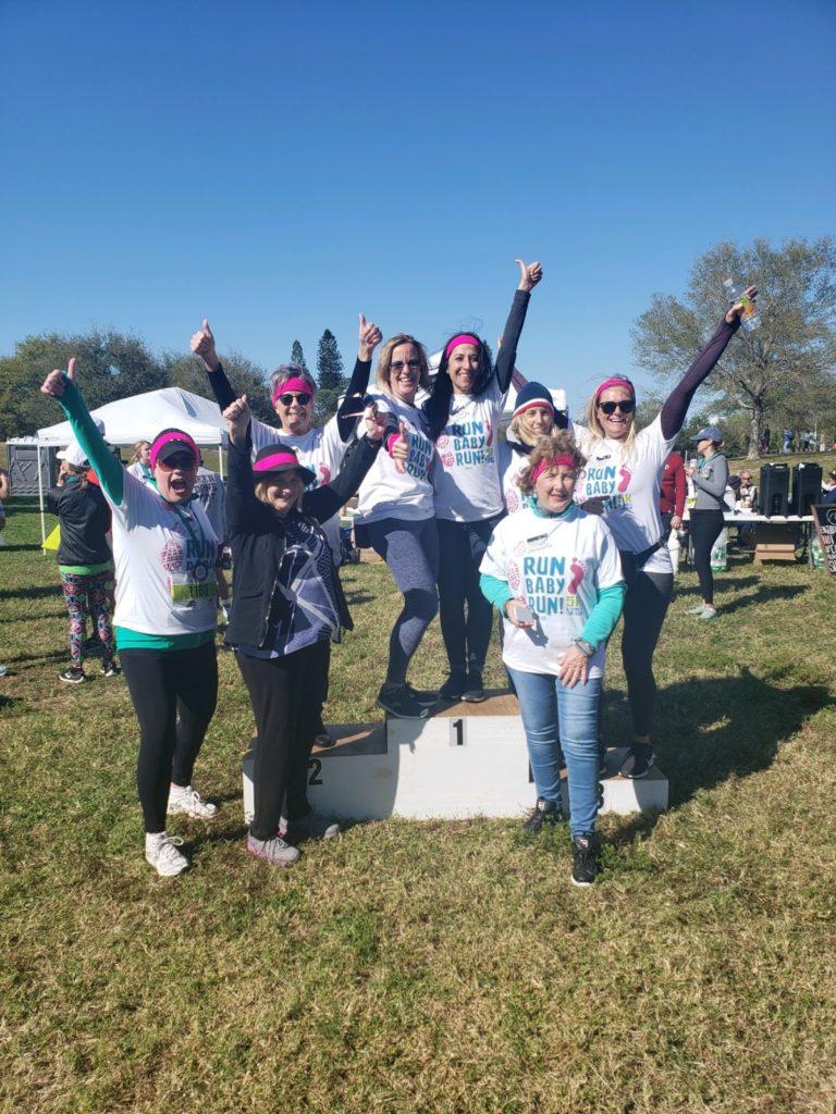 Run Baby Run Group Picture