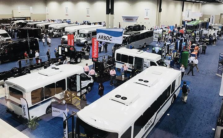 Bus conference floor