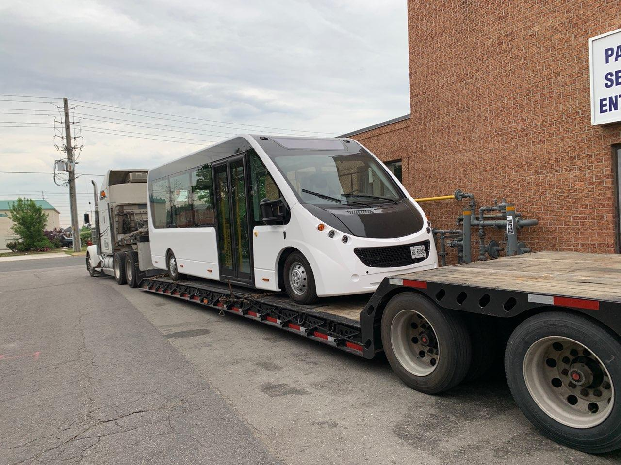 Mission Electric Bus