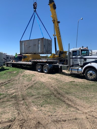 Loading Up a Shipping Container