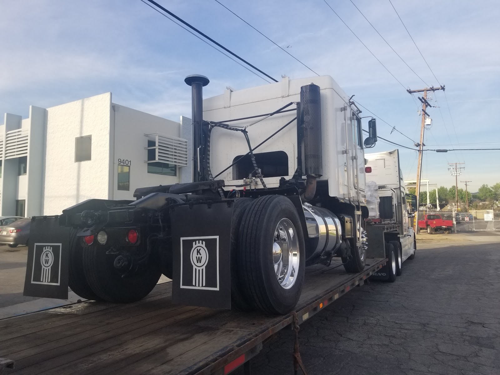 Kenworth K100E Single Axle Cab
