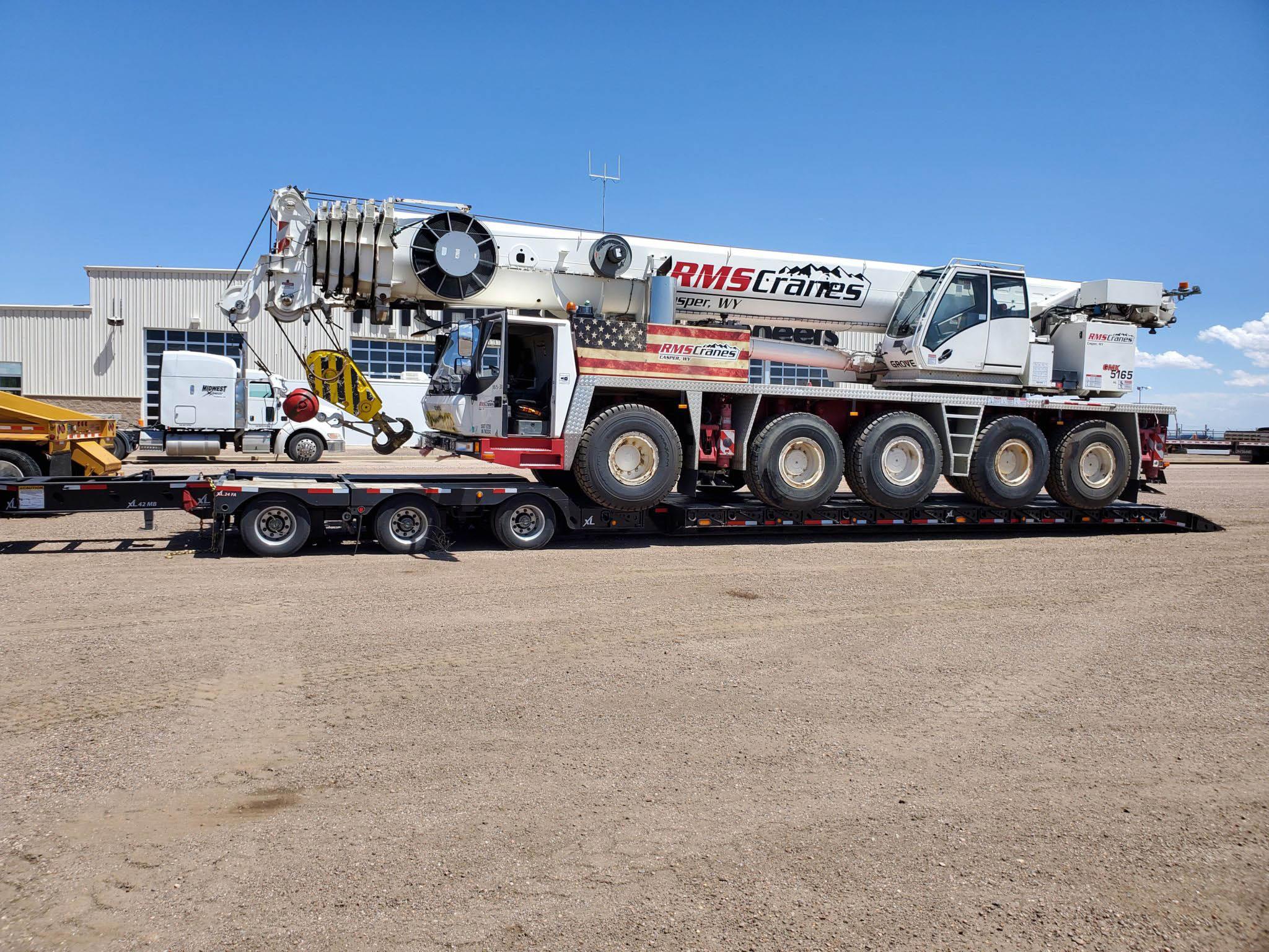 GROVE 5165 Crane Truck