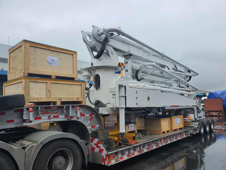 Crane Truck Boom