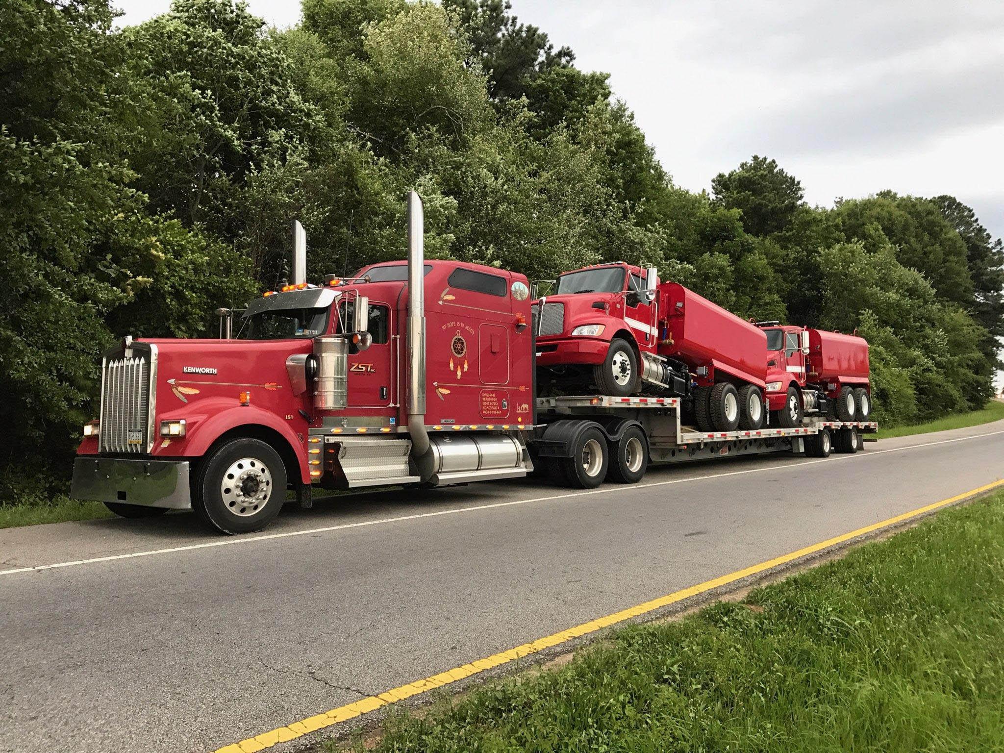 (2) Tank Trucks