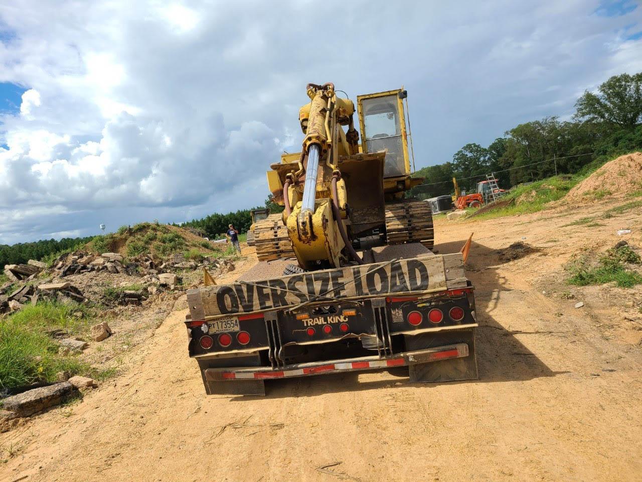 Oversize Excavator