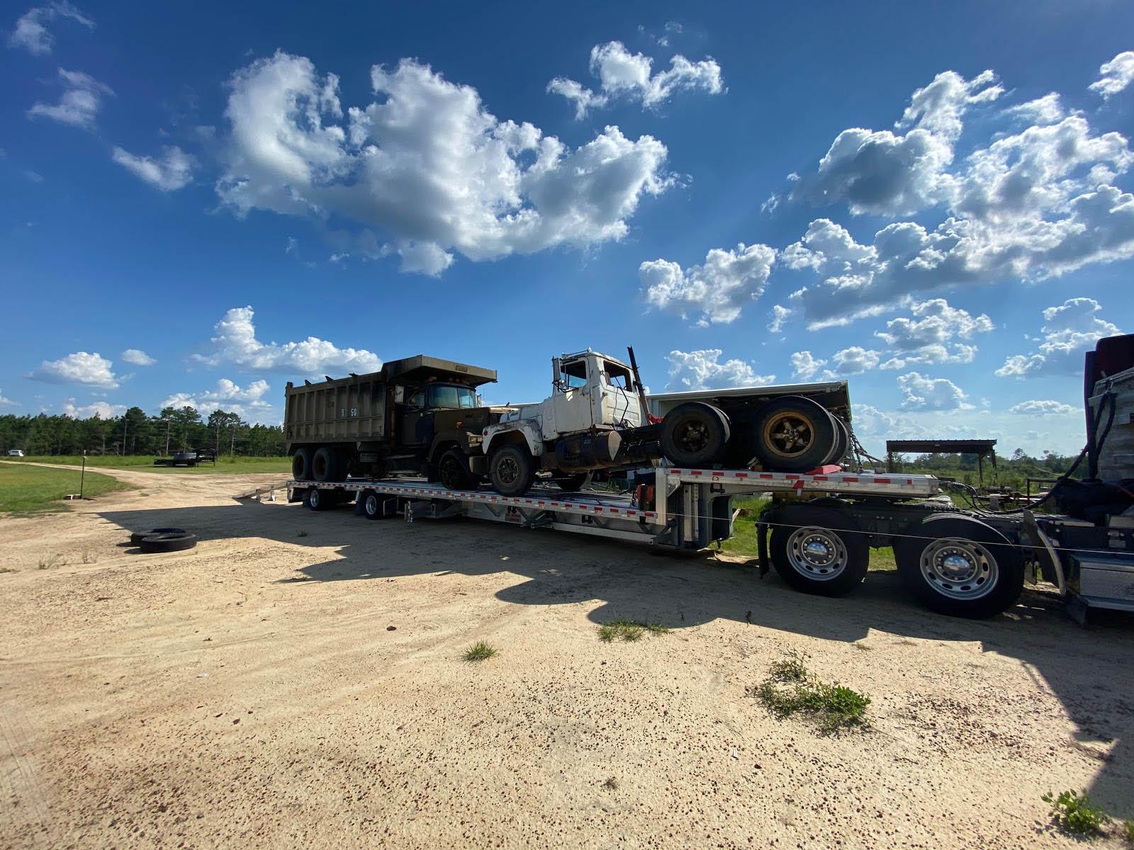 Mack Truck Day Cab