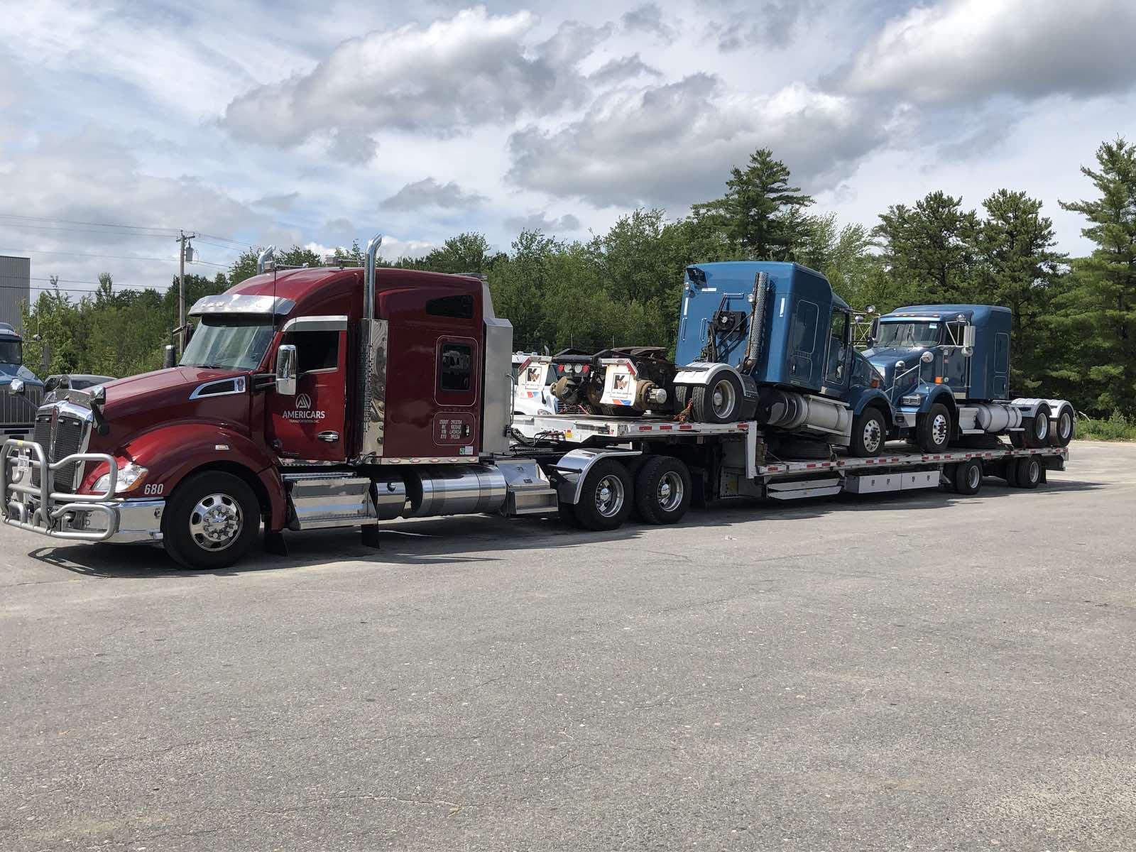 (2) Semi Trucks