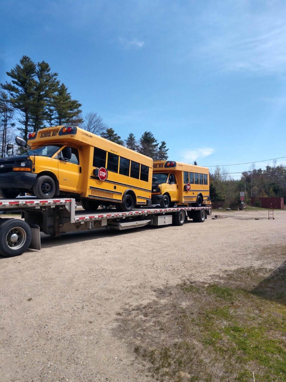 (2) School Buses