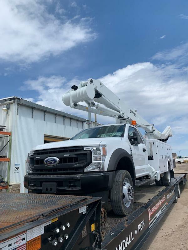 Telescopic Bucket Truck