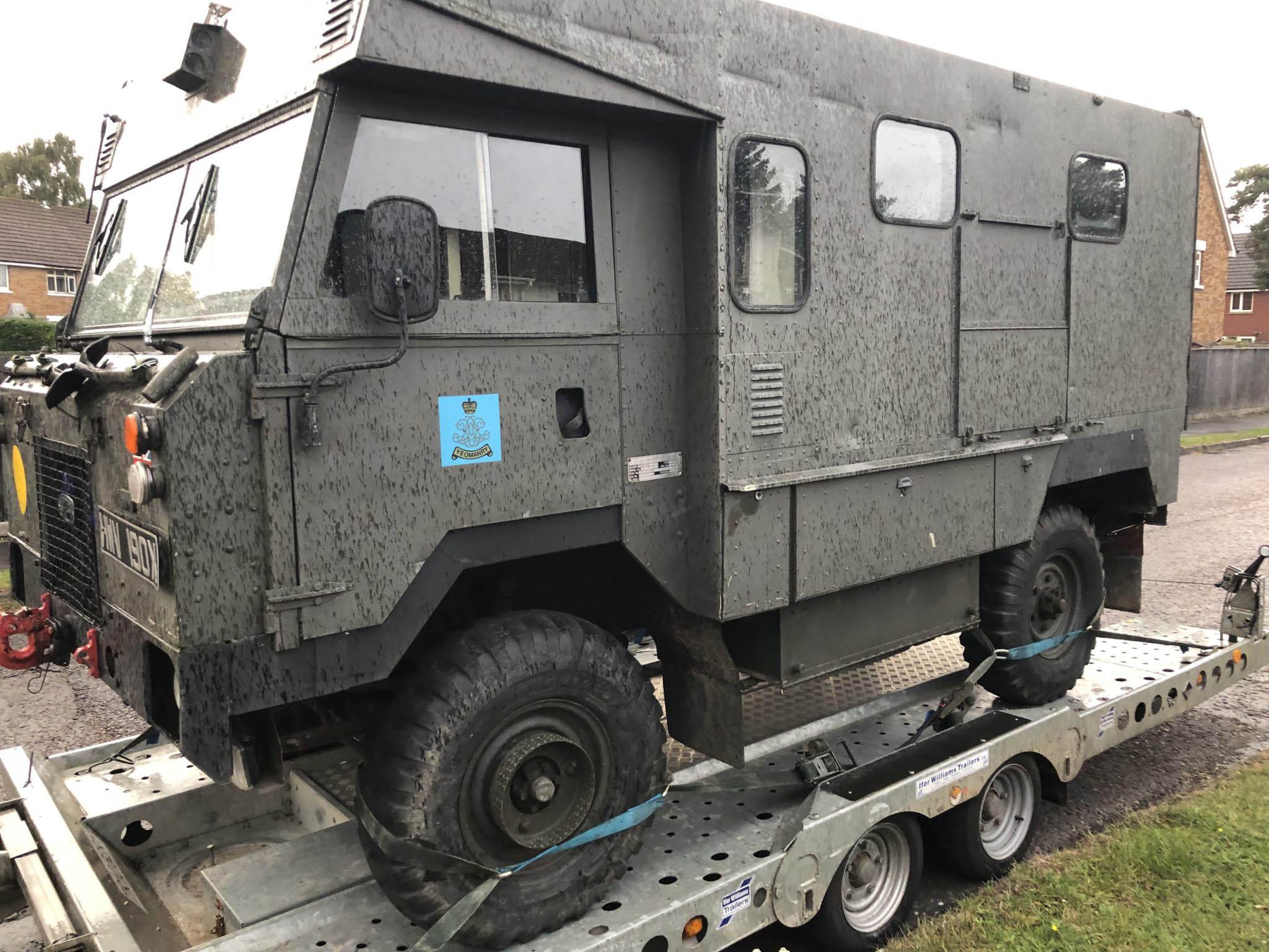 Armored Truck Overseas