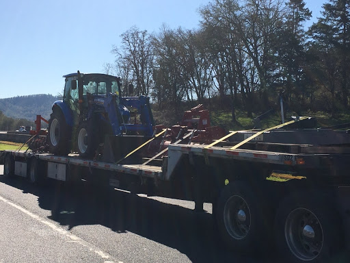 Tractor and Implements Shipment