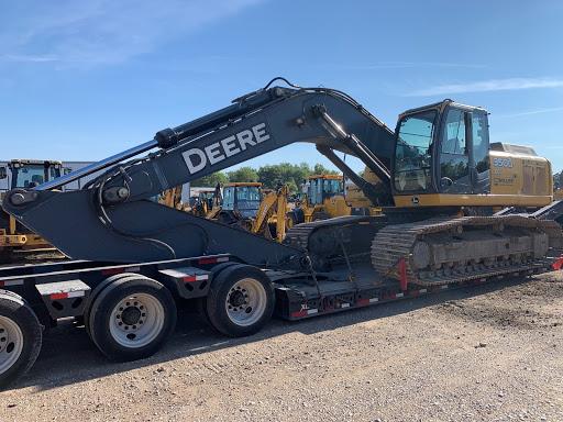 John Deere 350D Hydraulic Excavator