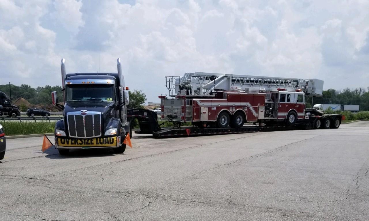 Oversize Firetruck