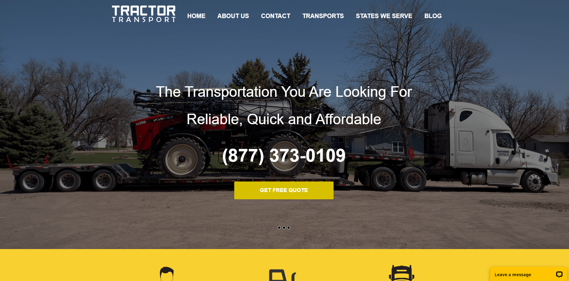 Tractor Transport