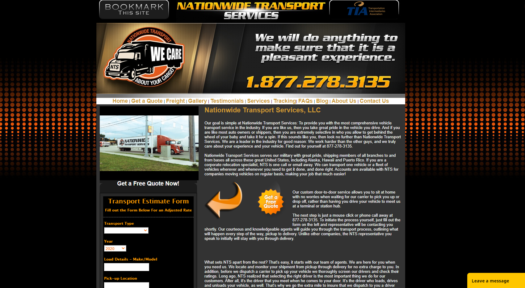 Nationwide Transport Services, LLC
