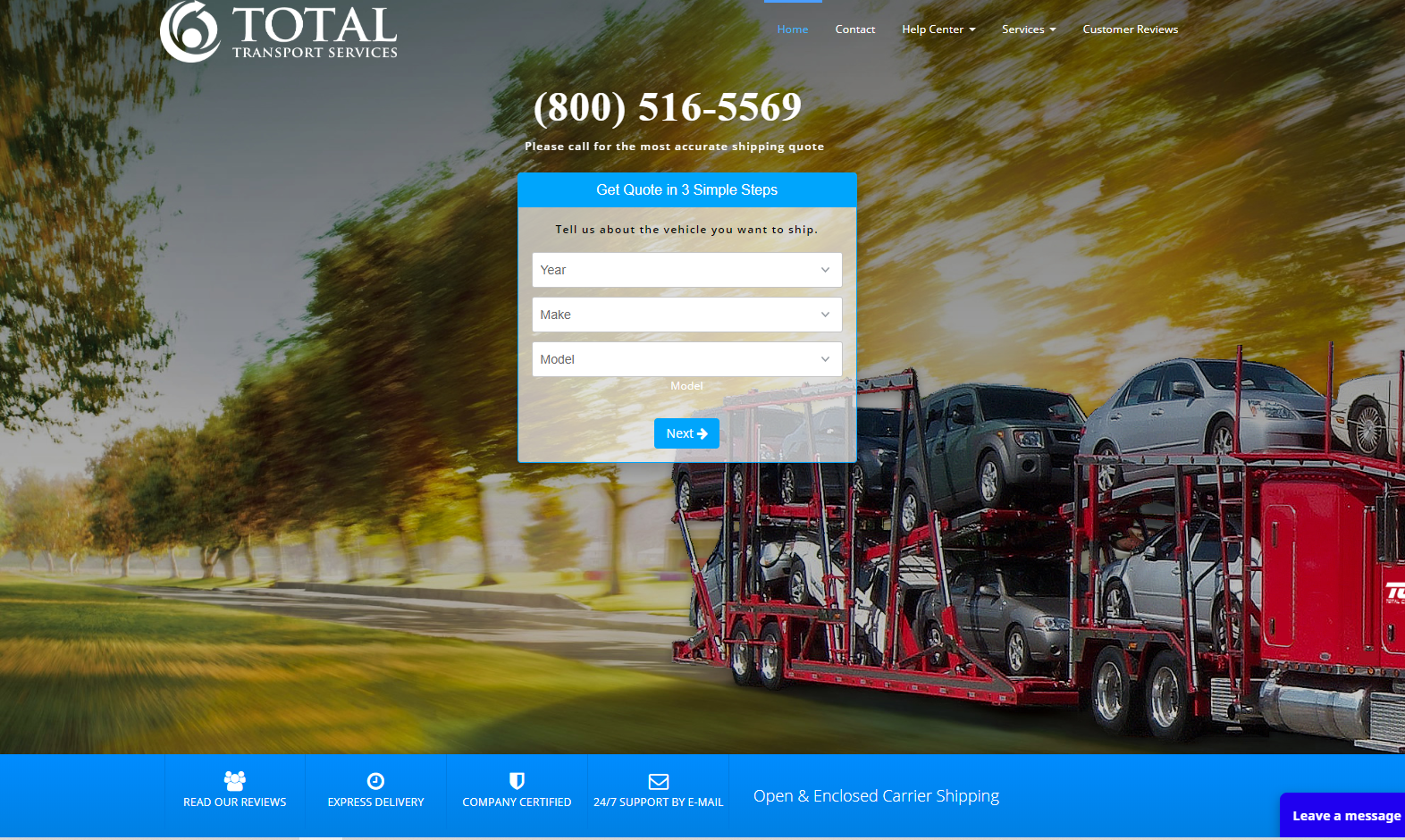 Total Car Shipping Inc.