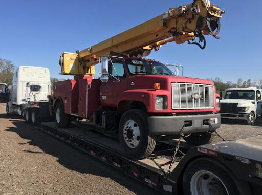 Chevy Crane Truck