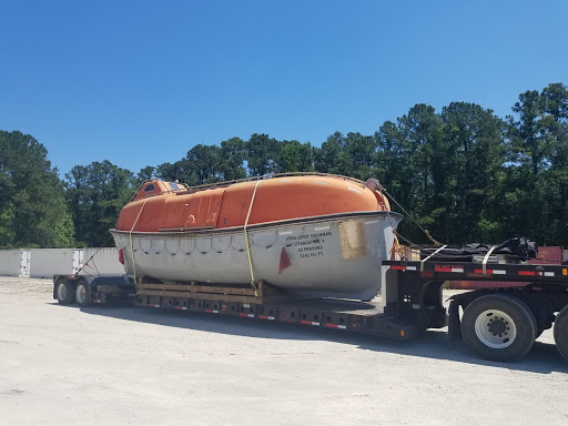 Life Boat from Military Base