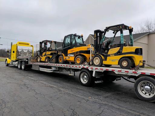 2 Yale Forklifts and a JCB teletruk 35D Forklift